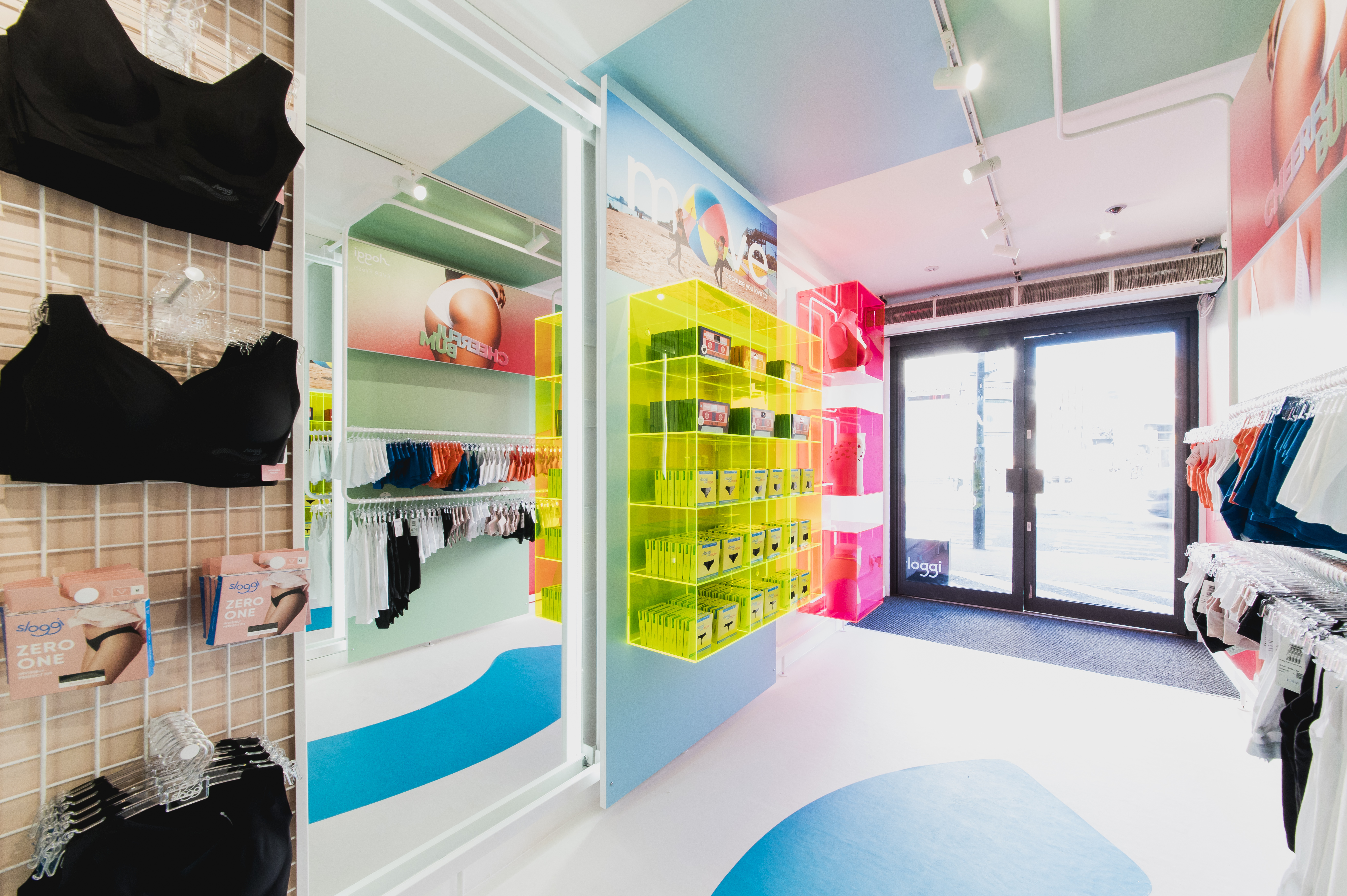 5d8ad29aa967a Iconic underwear brand sloggi are launching at Boxpark Shoreditch this  month. The Boxpark pop-up will be their first UK retail store, a landmark  opening for ...