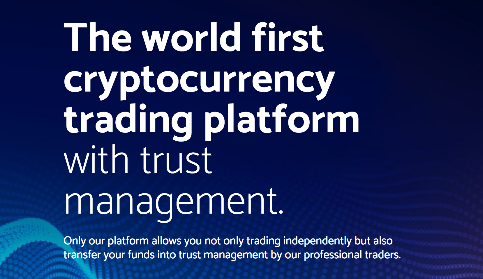 Welcome To Raj Trading Co: Welcome To Bitleex: Trading With Trust Management