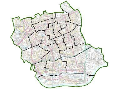 Map Of England Drawing.Political Map Of Newham Set To Change London Post
