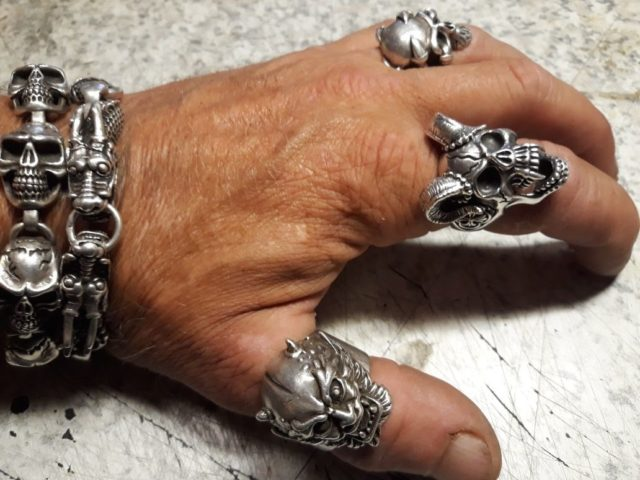 The best care for your silver biker jewellery 1