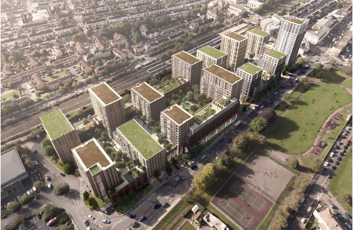 Tesco & Weston 1280 Home Application Submitted to Redbridge for Goodmayes Scheme - London Post